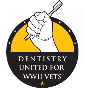 Dentistry United for World Ward two vets logo
